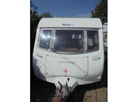 2006 Coachman Amara VS 380 - 2 Berth Touring Caravan With Rear Kitchen Area