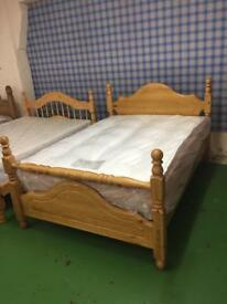 Cotswold Pine Bed-Double bed frame