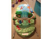 Fisherprice Rainforest baby bouncer