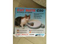 Automatic cat feeder. Cat Mate C50