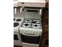 White cannon 55cm high level gas cooker grill & oven good condition with guarantee