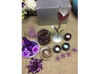 Purple ornament bundle