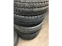Van tyres 225 65 16 suit transit movano master Iveco etc