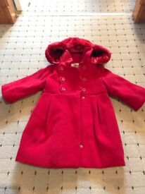 Girls used 18months winter coat from Mayroal