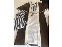 Kids Shepherds Dressing Up Costume Age 7-8. Mint condition.