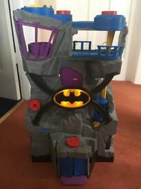 Imaginext DC Light up Batcave and Gotham City Jail