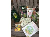 Gardening, cooking and travel books