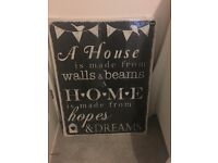 Next Home large picture/canvas/wall art (brand new)