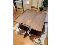 Bellange Coffee Table (Industrial Reclaimed Wood)
