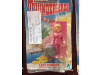 8 Thunderbirds Action Figures - unopened - Collectables