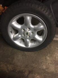 Freelander alloy wheel and tyre £60
