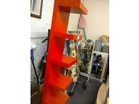 Child's red shelving unit #25889 £30