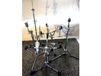 Ludwig Atlas Classic Flat Base Vintage Style Cymbal / Snare / Hi Hat Stands