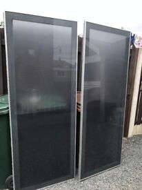 Pair Large Pax Ardal Ikea Sliding Doors. Can Deliver.