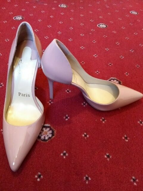 sports shoes c52f8 f01ae Designer heels size 4 37 red soles 10 cm IRIZA Louboutin | in Wollaton,  Nottinghamshire | Gumtree