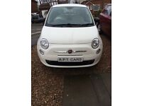 Fiat 500 white 61 plate 6 month warranty