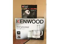 Food processor and hand mixer - BOTH NEW IN BOX !