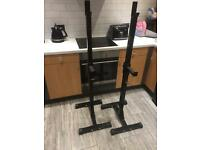 Squat/bench press stands
