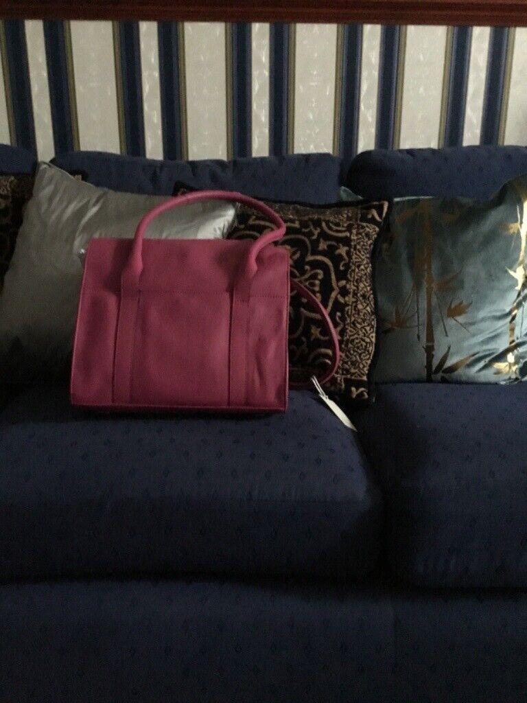 Radley Handbag Pink Leather With Tag In Larkhall South Lanarkshire Gumtree