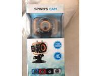 Sealed sports camera