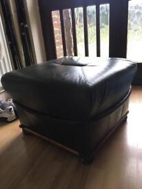 Green chair foot/stool