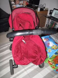 Mothercare Orb with adapters for maxi cosi car seat