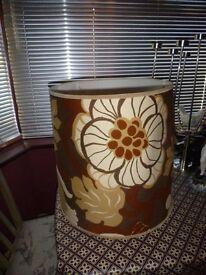 VERY LARGE ORIGINAL RETRO LAMP SHADE - STANDARD LAMP