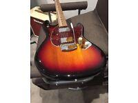 Musicman USA Ltd Ed Stingray roasted flame maple