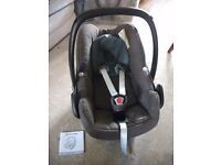 Maxicosy Pebble Car Seat, 'Brown Earth' colour