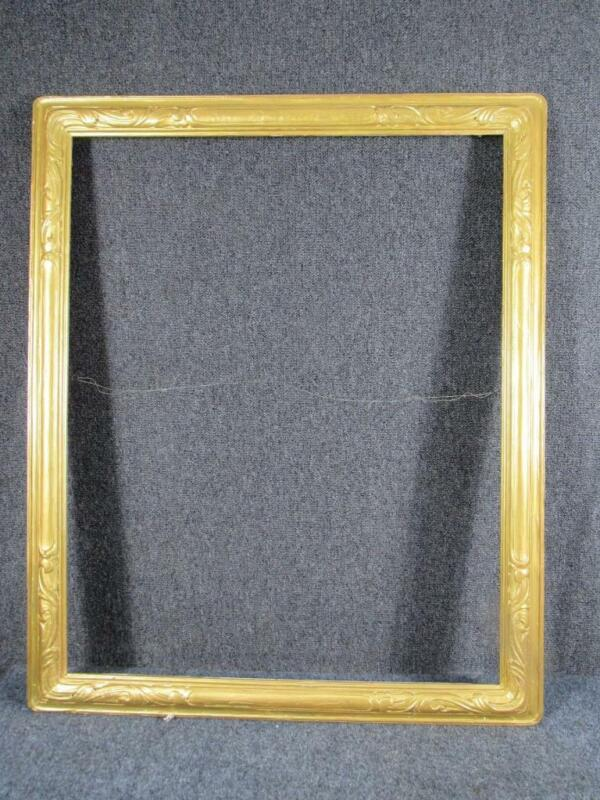 """ANTIQUE NEWCOMB MACKLIN HAND CARVED PAINTING FRAME, ARTS & CRAFTS, fits 24x30"""""""