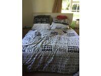Super king bed & mattress