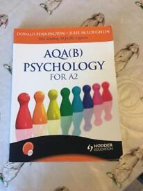 A2 Psychology textbook