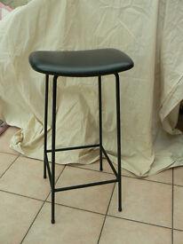FOUR 1960s RETRO style stools