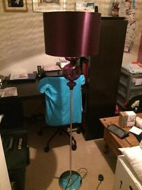 Plum Floor Standing Lamp