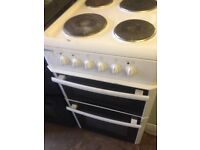 White Electric metal Rings cooker 50cm...Cheap Free delivery