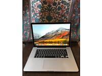 MacBook Pro 2015 2.5GHz Core i7 16GB RAM 512GB SSD Radeon R9 M370 Graphics