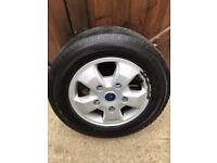 Ford transit custom alloy wheels and tyres