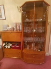 Beautiful Display Unit and Minibar