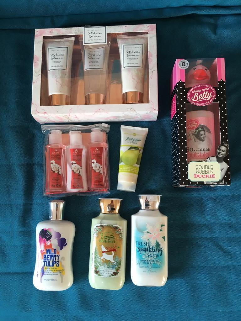 Various lotions