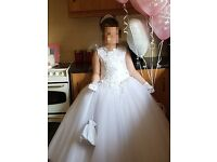 Gorgeous first communion dress