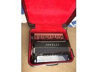 120 bass double casotto accordion