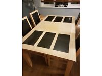 table and 8 matching chairs