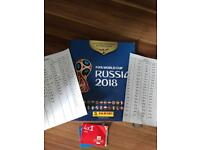Russia World Cup stickers swaps