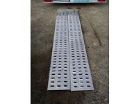 Car Trailer Ramp Galvanised Steel 200cm Long
