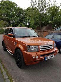 First Edition Range Rover Sport 4.2l V8
