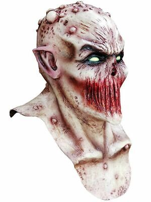 Deadly Silence Zombie Mask Adult Latex Halloween Undead Horror Bloody Warts New - Deadly Silence Mask