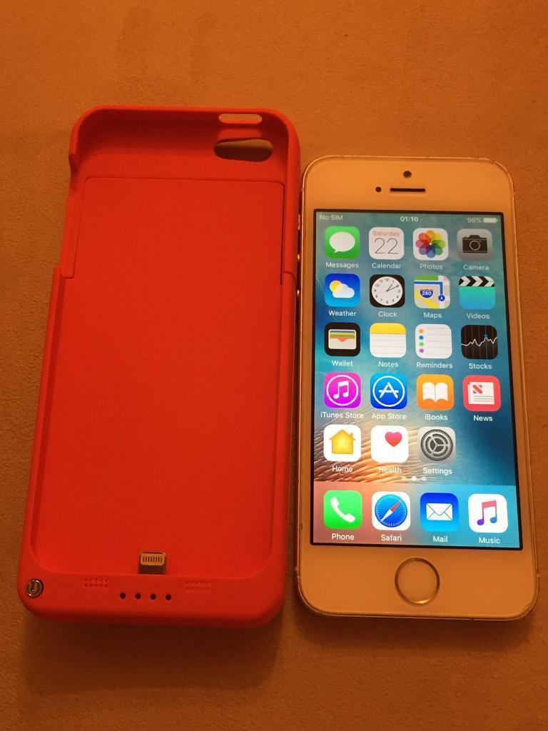 Apple iPhone 5s 16GB Vodafone Talk Talk Lebara white