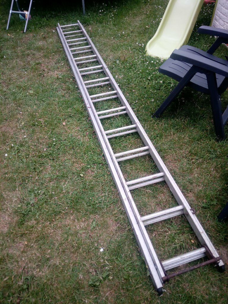 Aluminium Ladder 20ft Metal