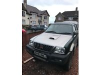 Mitsubishi l200 £1500 Ono relisted due to time waster