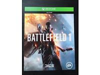 Battlefield 1 Xbox One download code